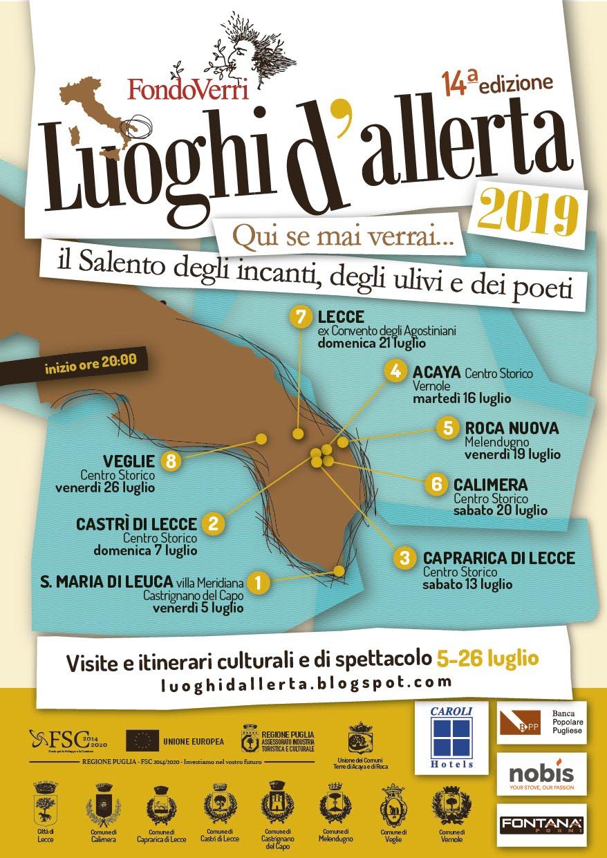 Luoghi d'Allerta 2019