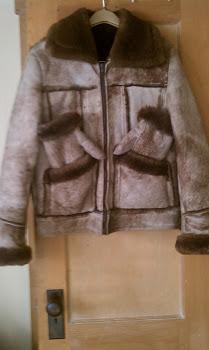 Sheepskin  Jacket  Sheepskin Mits......