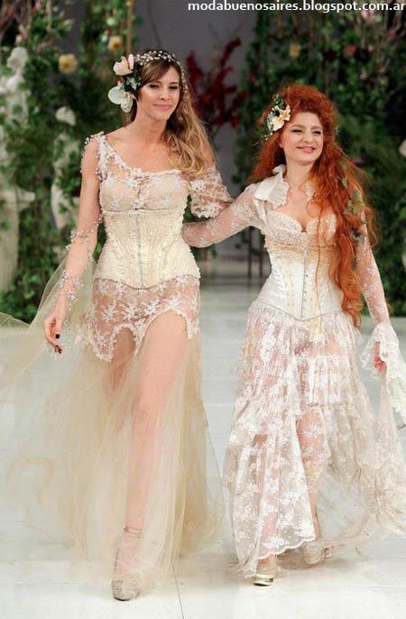 Vestidos de fiesta 2013 Verónica de la Canal.