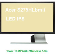 Acer S275HLbmii LED IPS monitor review