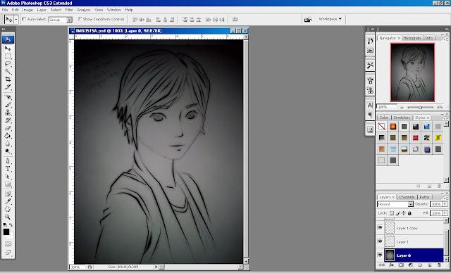 Gambar - Lembar kerja membuat manga edisi 2