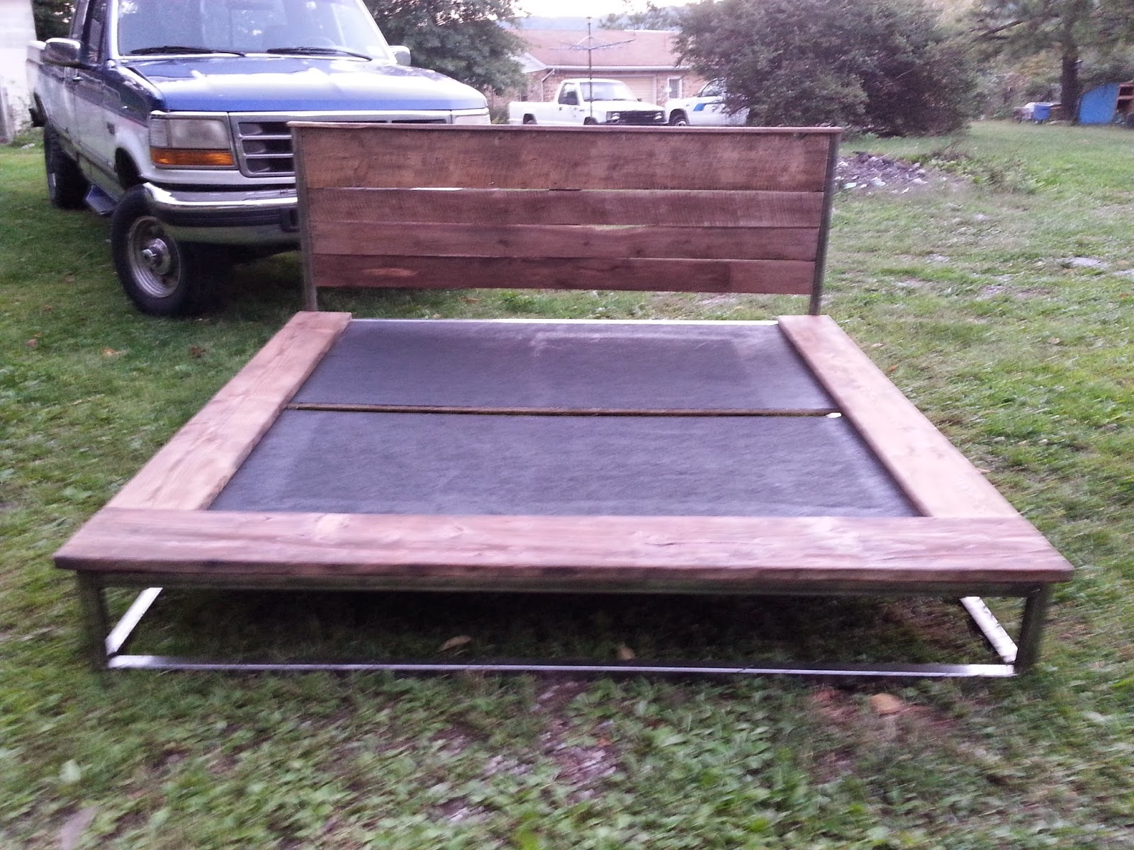 custom made king size bed frame
