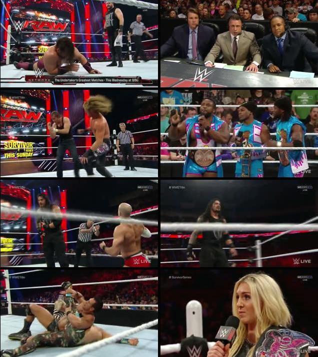 WWE Monday Night Raw 16 Nov 2015 HDTV 480p