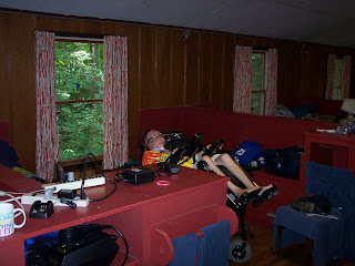 Tilting by my bunk in 2011