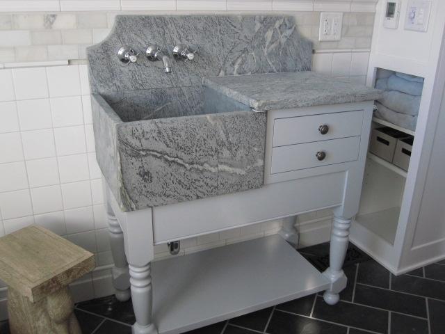 Empire Dresser And A Custom Bathroom Vanity.