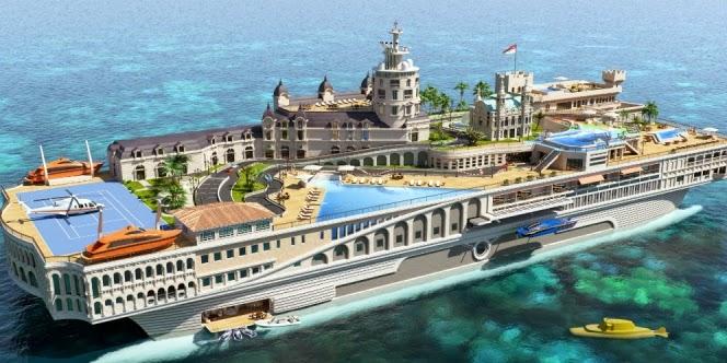 Kapal Pesiar Yacht