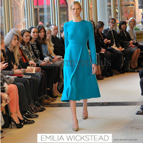 Kate Middleton wore Emilia Wickstead Dress - AW13
