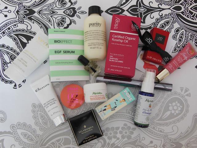 British Beauty Blogger Beauty Box contents
