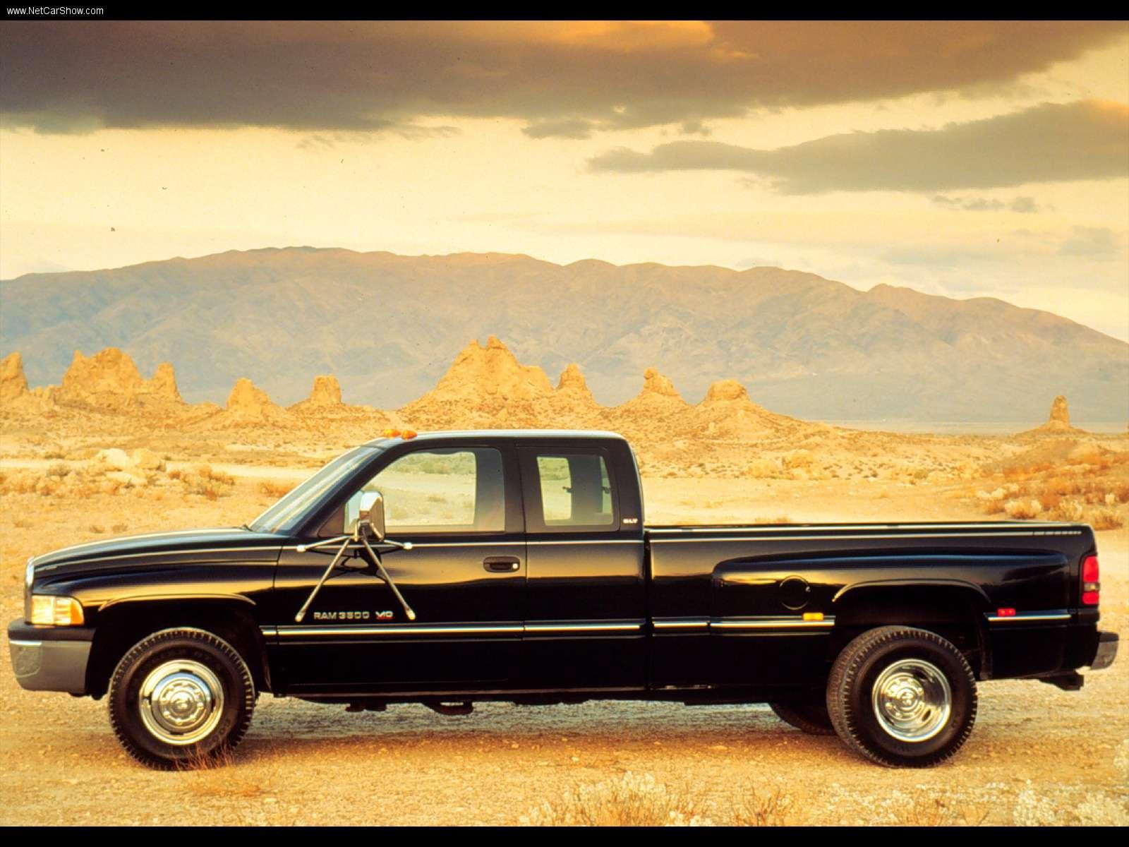 Dodge Wallpapers Ram 3500 1996