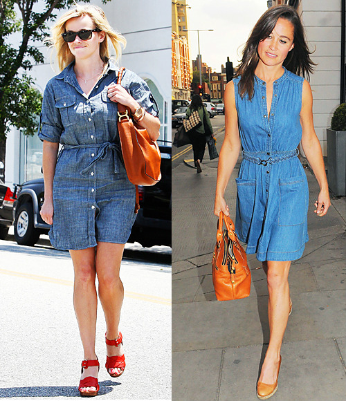 Are jean dresses in style