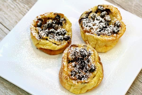 blueberry-popovers