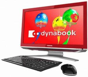 Toshiba Dynabook Qosmio D711 All-in-one Desktop