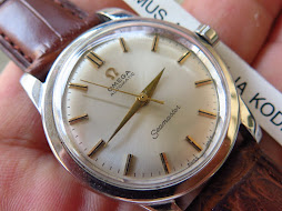 OMEGA SEAMASTER CREAM DIAL - MECHANICAL BUMPER CAL 354