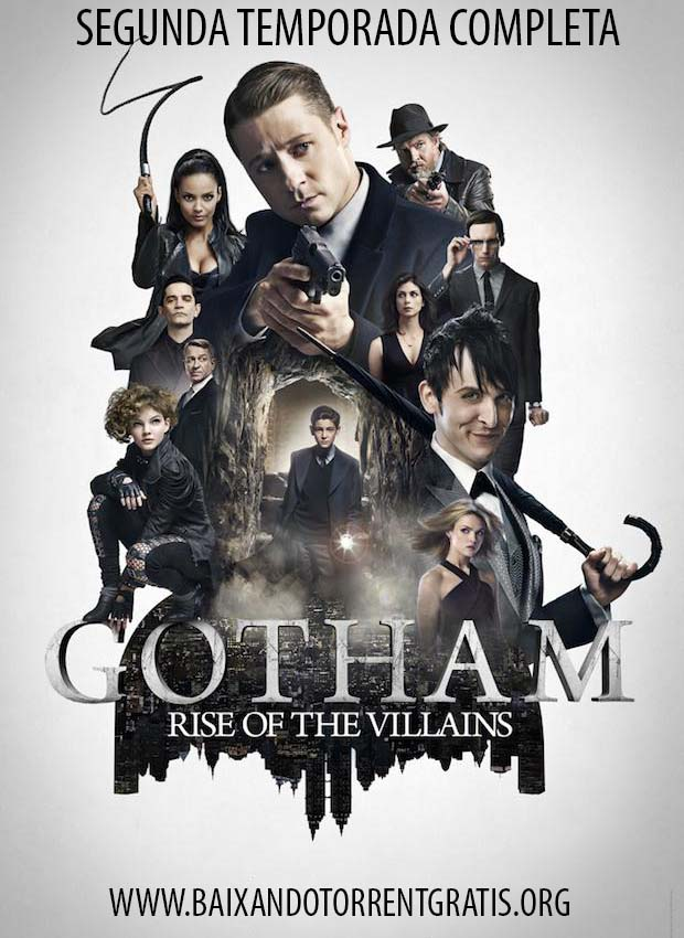 Gotham 2ª Temporada Torrent – BluRay 720p Dual Áudio (2016)