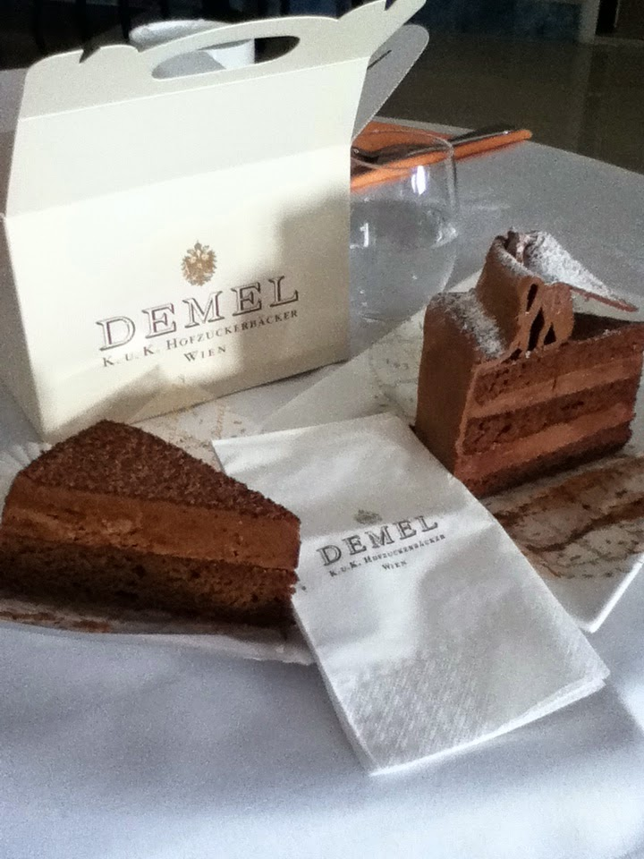 Vienna, Austria, Demel, travel, expat, chocolate