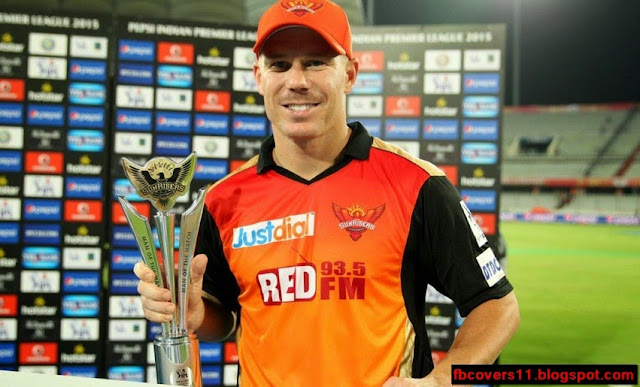 David Warner IPL facebook Cover