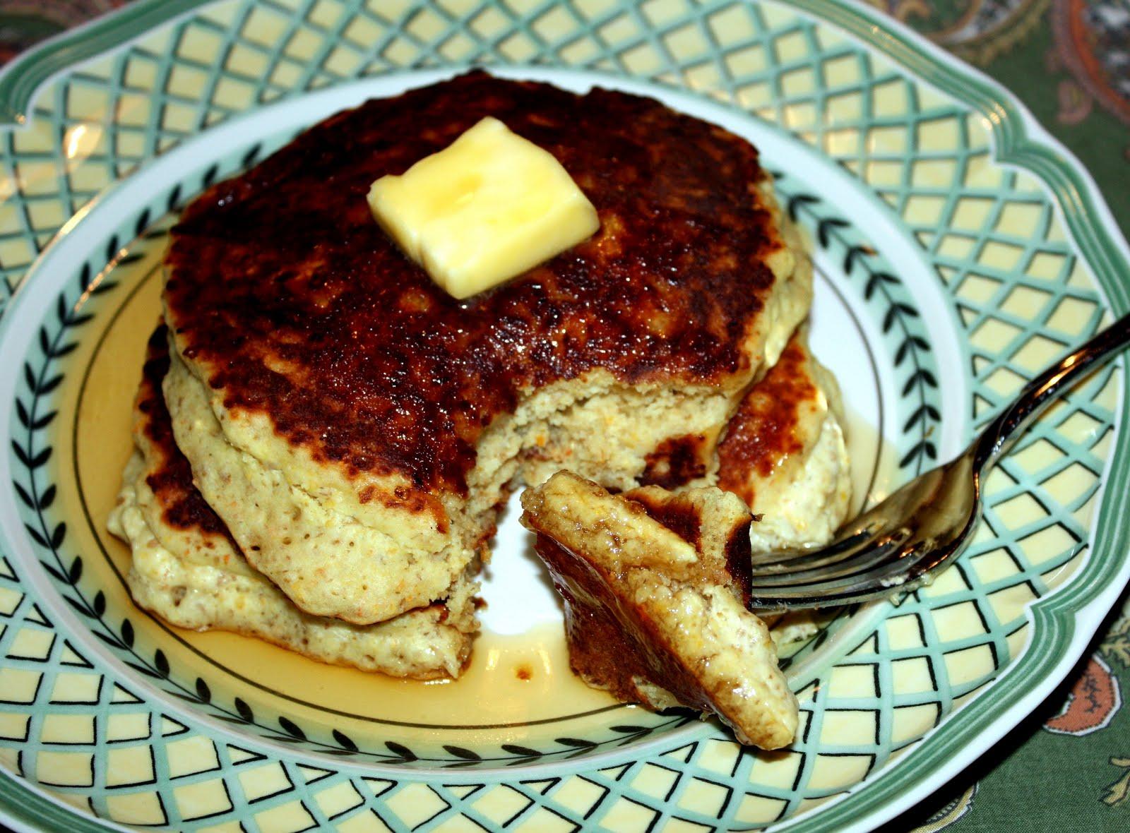 Mindful Food: Quinoa Gluten-Free Vegan Pancakes