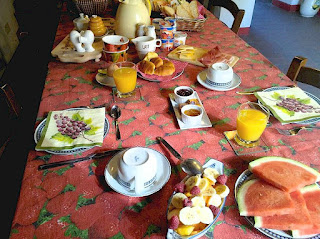 Breakfast at your country vacation accommodations in Chianti, Tuscany