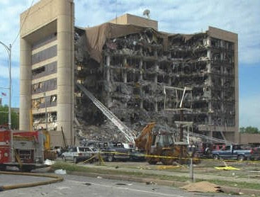 okc murrah building bombing 2007-3-29  on april 19, 1995 at 9:01 am, 169 people were murdered when the alfred p murrah building in oklahoma city, oklahoma (okc), was bombed149 adults, 19.