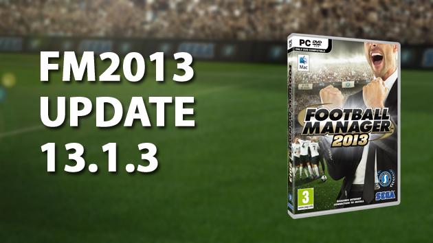 FM2013 Update 13.1.3