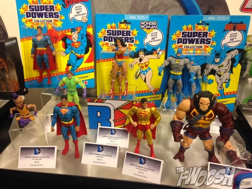 "DC Comics Super Powers 6"" Action Figures by Mattel"