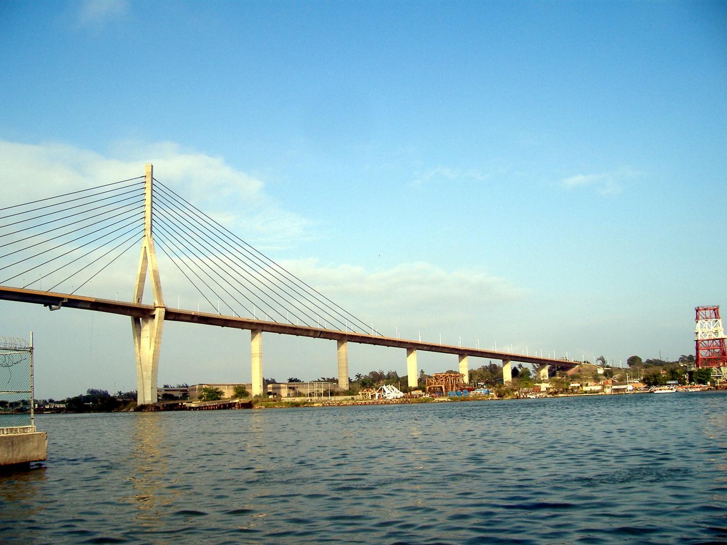 Tampico Mexico  city photos gallery : Puente de tirantes de Tampico