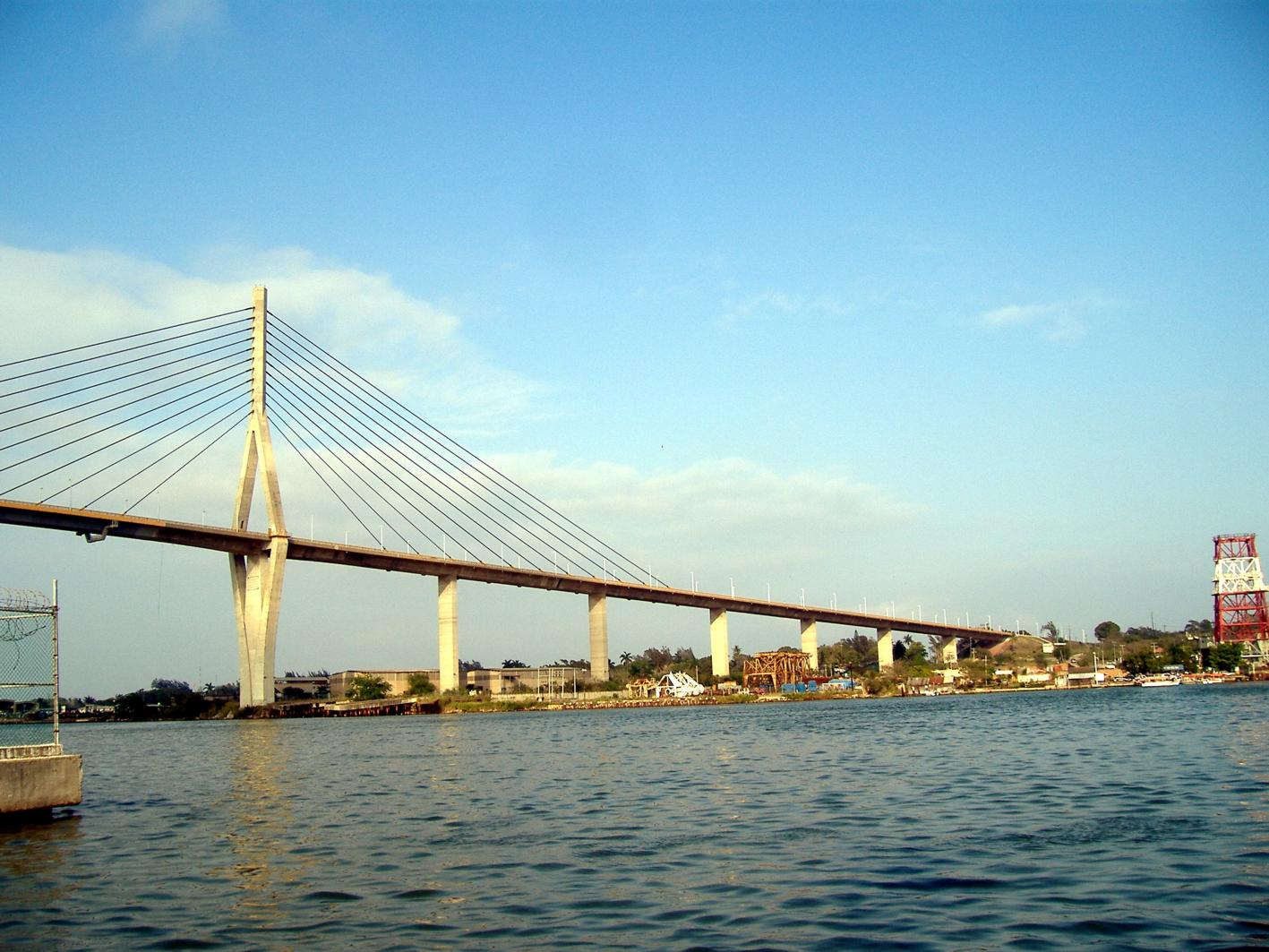 Tampico Mexico  city photo : Puente de tirantes de Tampico