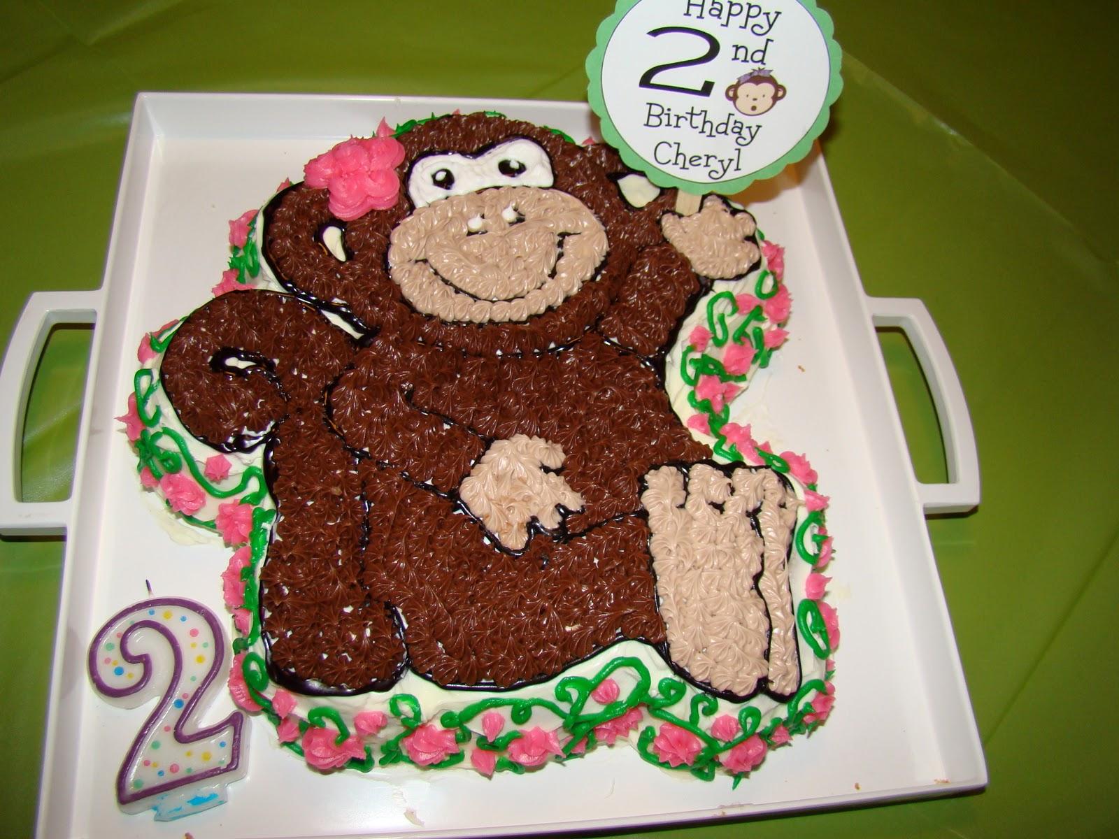 HECK FRIDAYS Monkey Birthday Party