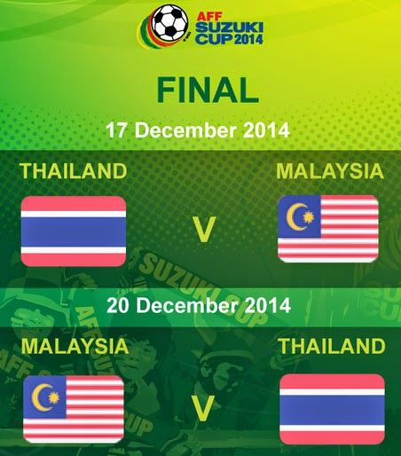 Malaysia Vs Thailand Piala AFF Suzuki 2014