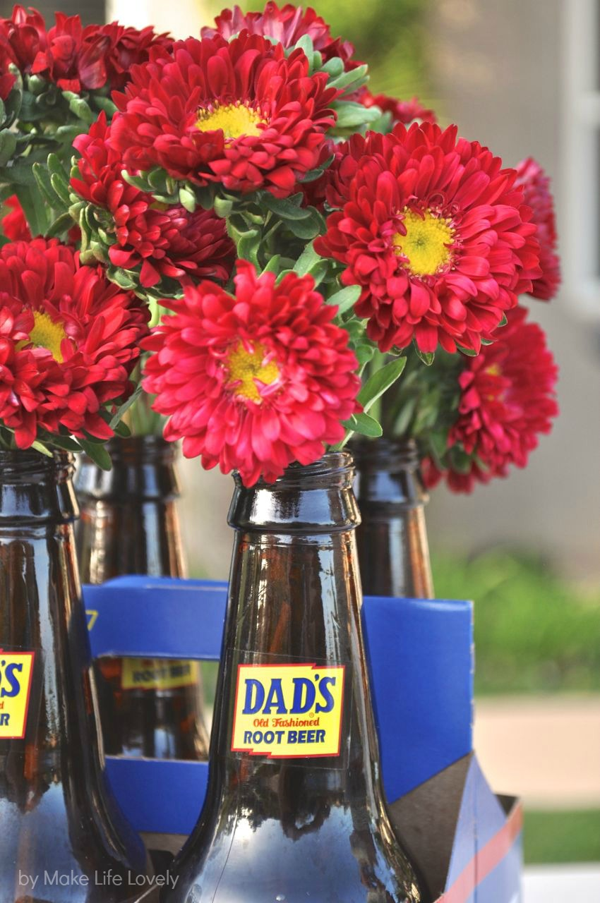 Easy father s day bouqet centerpieces make life lovely