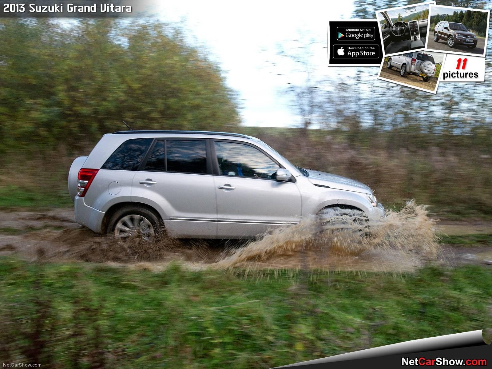 Hình ảnh xe ô tô Suzuki Grand Vitara 2013 & nội ngoại thất
