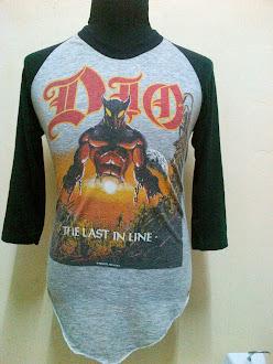 Vintage Dio 'Last In Line'