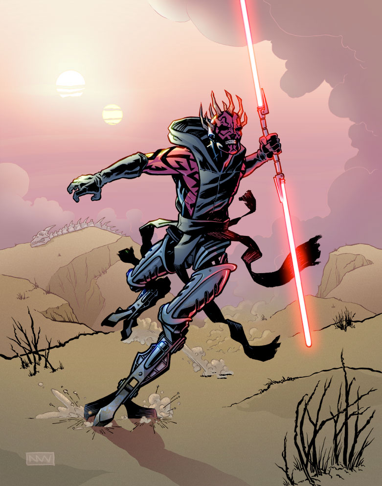 The return of darth maul in more ways than one