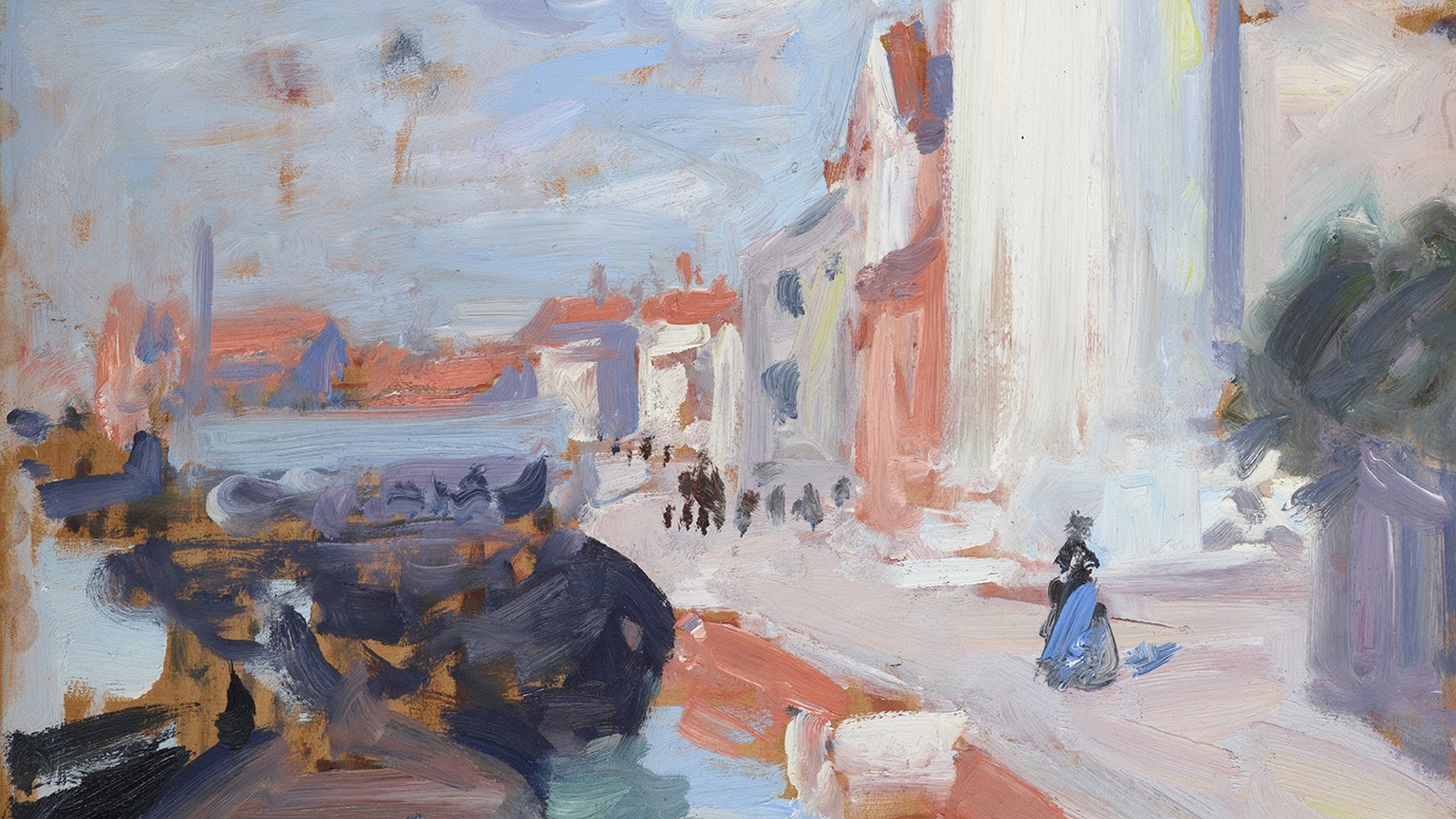 Francis Cadell On the Canal Venice National Galleries of Scotland