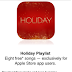 Apple Store app giving away free Holiday Playlist this week