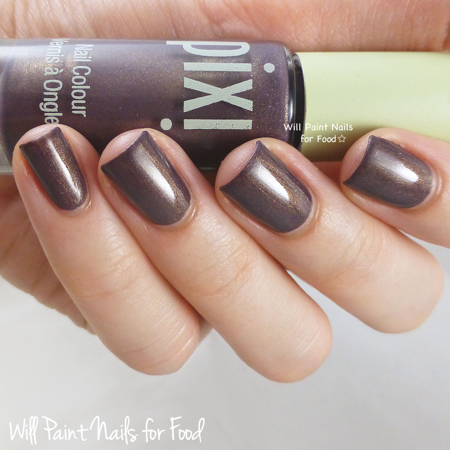 Pixi Nail Colour in Classy Cocoa swatch