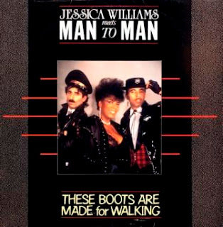 JESSICA WILLIAMS MEETS MAN TO MAN - These Boots Are Made For Walking (1987)