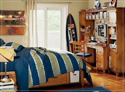 dormitorio estilo surf