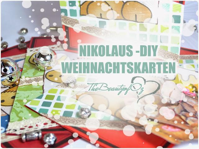DIY Grußkarten für Weihnachten