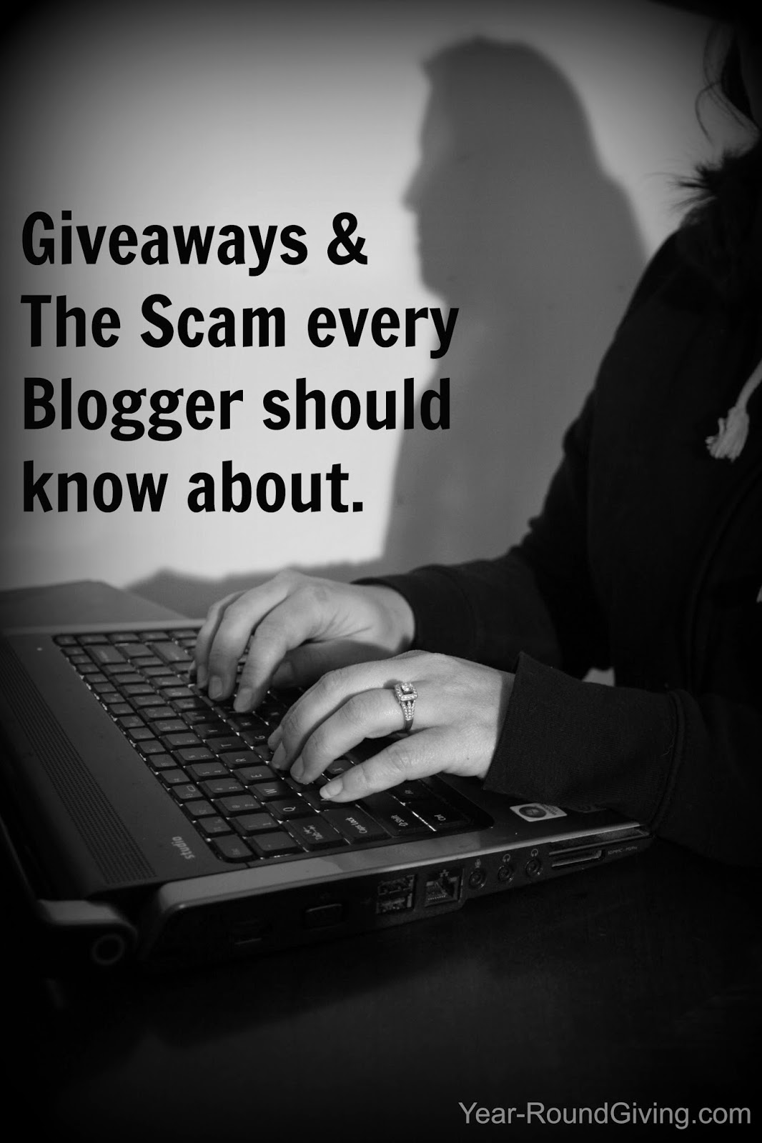 Blogger Giveaways and the Scam every Blogger needs to know about