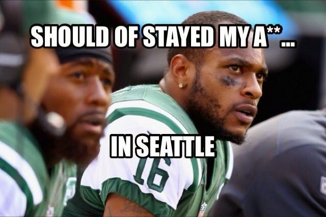 should of stayed my a** in seattle