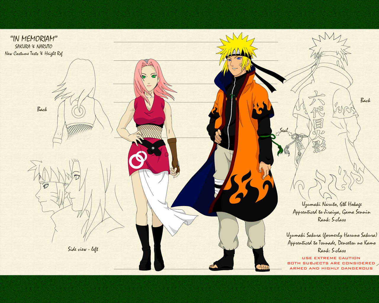 Naruto and Sakura Hokage Naruto Shippuden Wallpapers on this NarutoNaruto Shippuden Naruto And Sakura Kiss