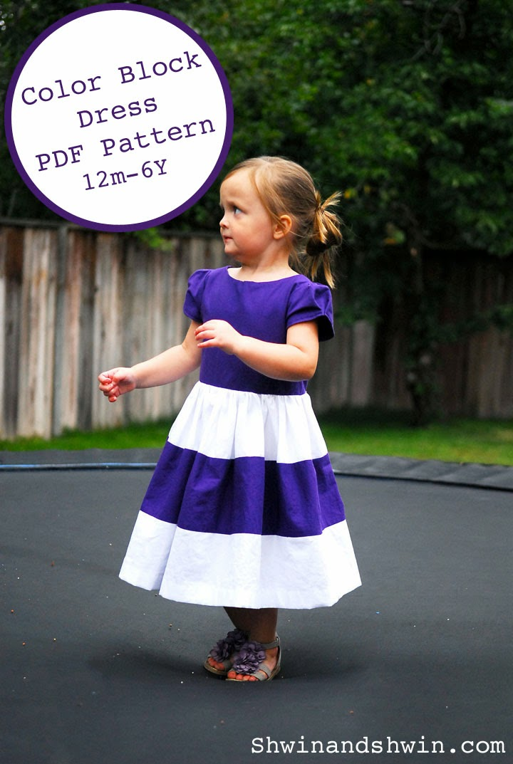 Free Pattern and tutorial for dress