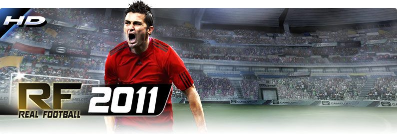 Real Football 2011 HD v3.0.5 Android apk game