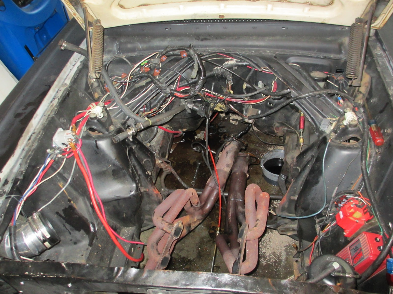 1965 mustang engine compartment wiring harness 1965