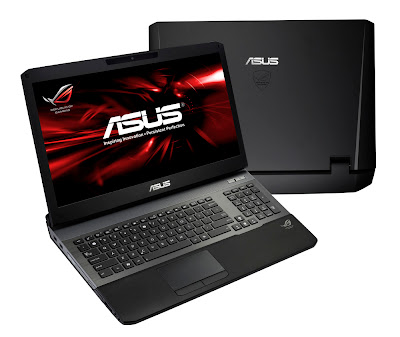 asus gaming notebook g75vw