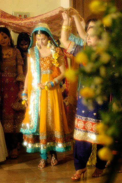 new bridal mehndi dress designs 201415 pak fashion