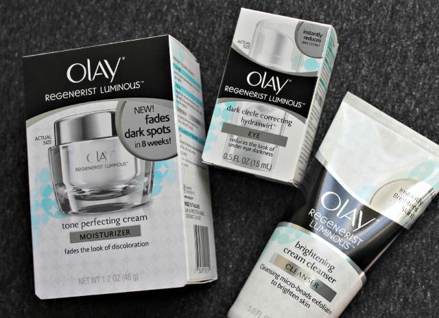 Olay Regenerist Luminous skincare line