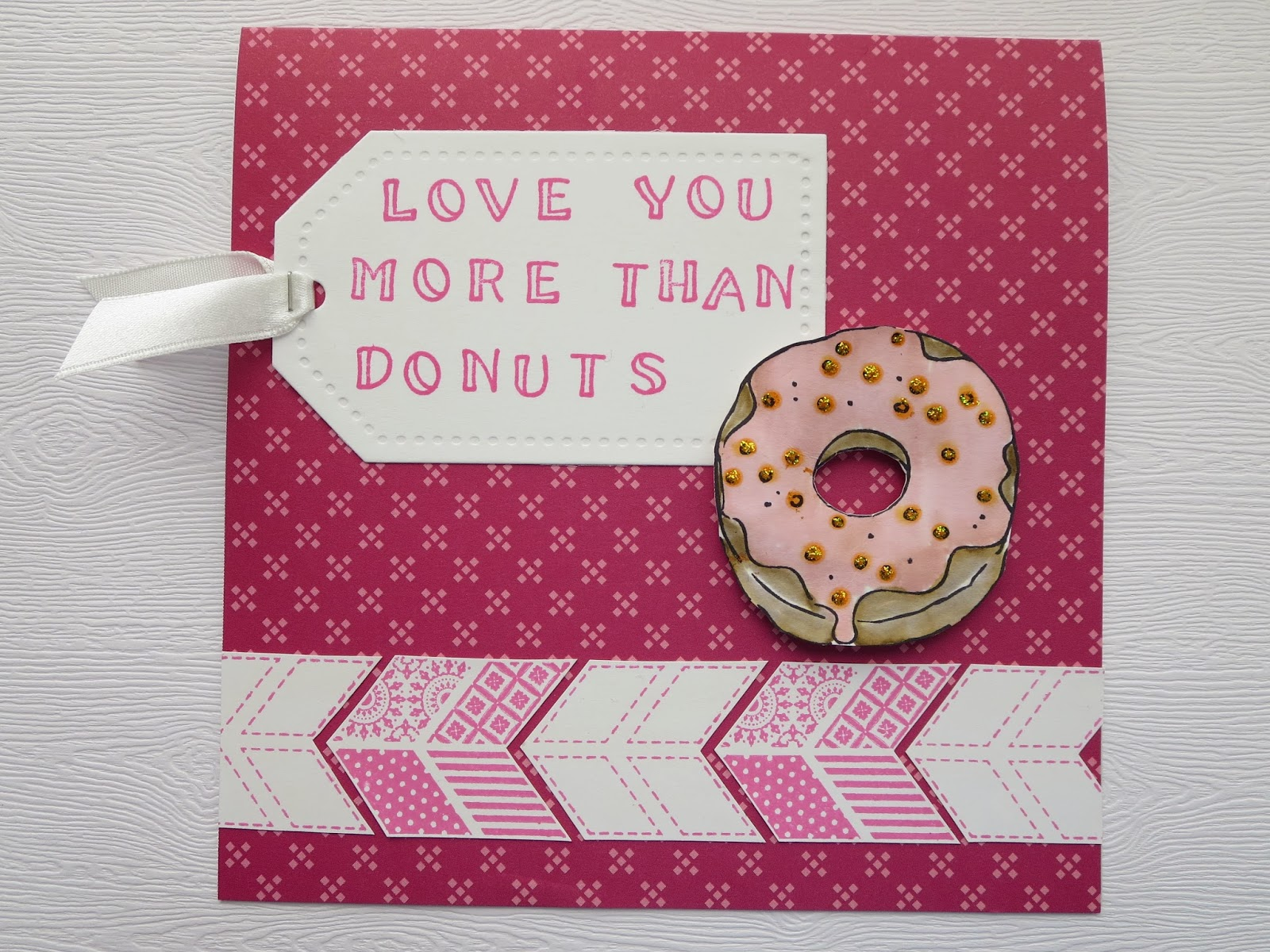 fresh crafts blog: i love you more than donuts