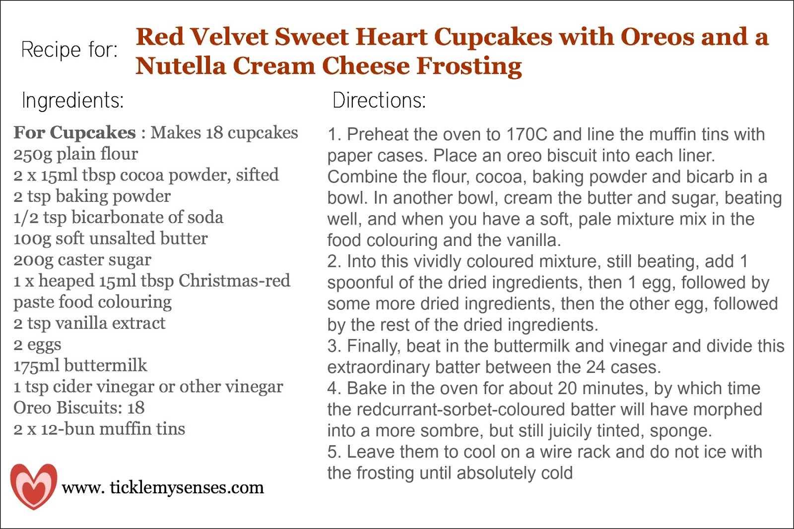 Red Velvet Nutella Cupcake Recipe Recipe Source Red Velvet